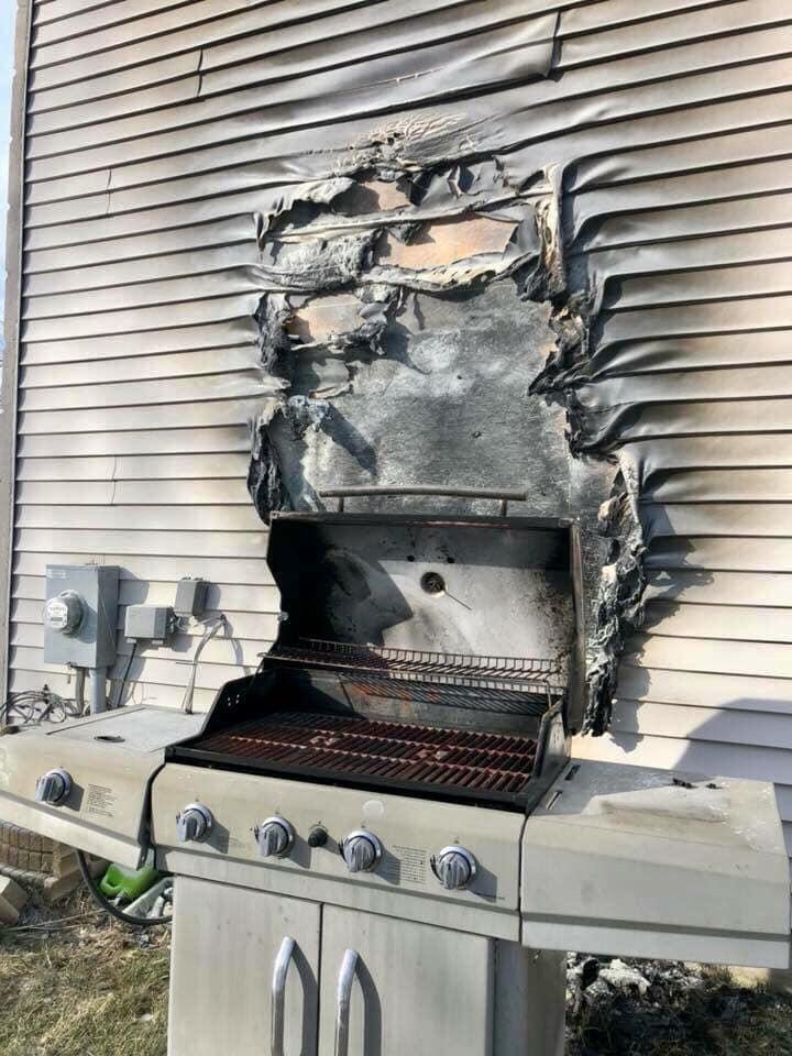 Grilling Hazard