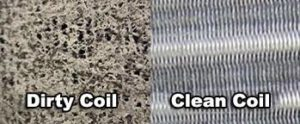 Comparison of Clean and Dirty Coils